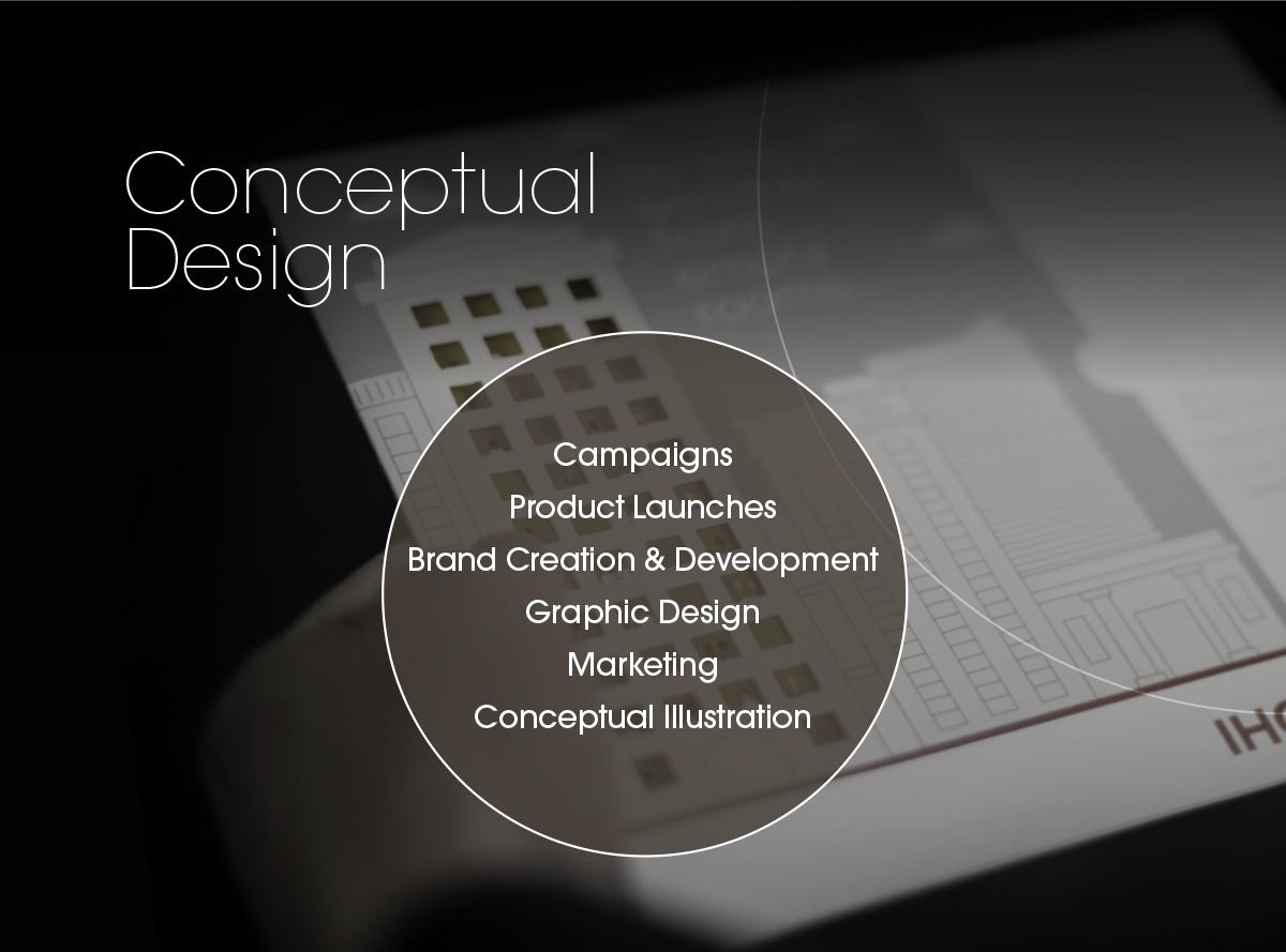Conceptual Design | Campaigns, Product Launches, Brand Creation & Development, Graphic Design, Marketing, Conceptual Illustration