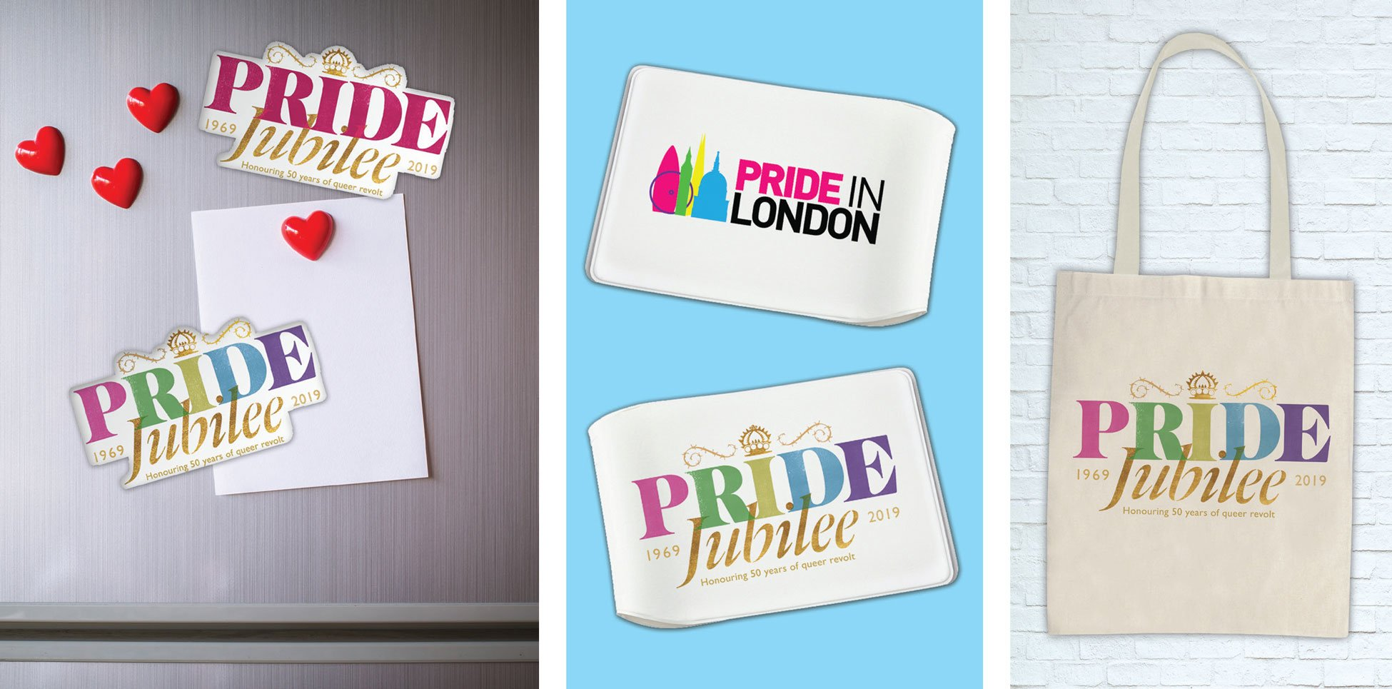 Pride in London - Fridge Magnets, Wallets & Tote Bags