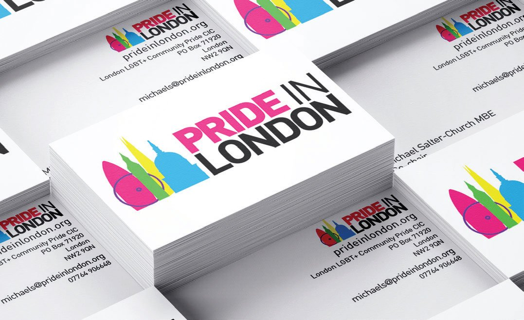 Pride in London - Business Cards