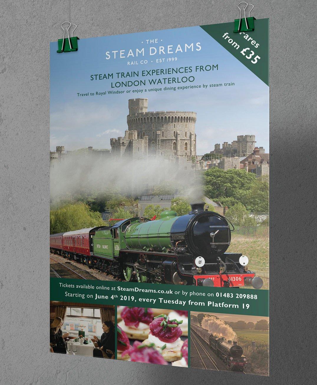 Steam Dreams - Poster